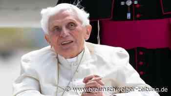 """Papst Benedikt hofft """"bald"""" auf Jenseits"""