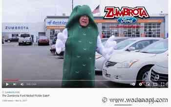 Minnesota car dealer takes comedian John Oliver's commercial challenge - Wadena Pioneer Journal
