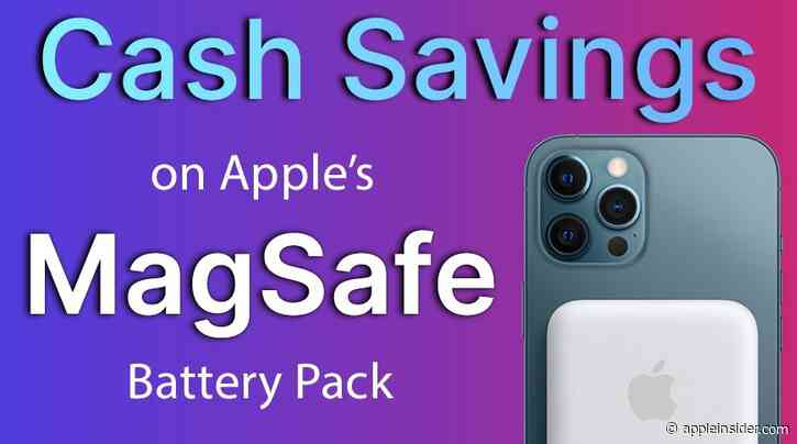 Apple's MagSafe Battery Pack for iPhone 13 gets steeper discount on Amazon