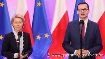 Von der Leyen und Morawiecki: Scharfer Schlagabtausch im Streit um Polens Rechtsstaatlichkeit
