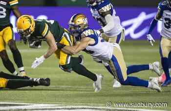 Blue Bombers can clinch first-place finish in West Division with victory over Lions