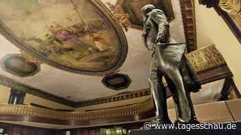 New York City: Jefferson-Statue wird aus Rathaus entfernt