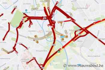 Ongeval op autosnelweg veroorzaakt files tot in centrum Gent