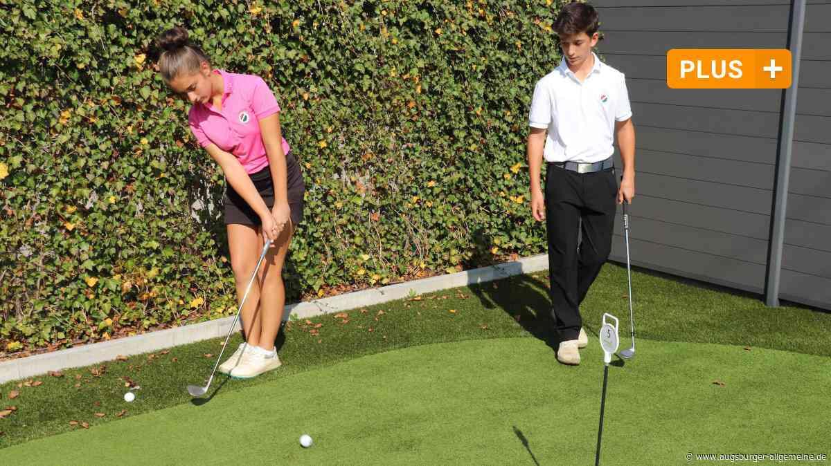 Golf: Zwei Talente aus Kaufering auf den Spuren von Tiger Woods