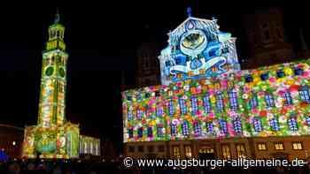 Light Nights 2021 in Augsburg: Die Innenstadt wird bunt erleuchtet