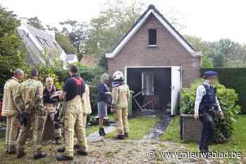 Inboedel zwaar beschadigd na brand in garage