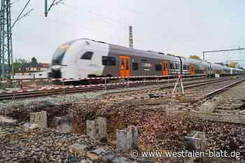 Zug um Zug entsteht die Bahnbrücke