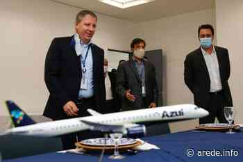 Azul retomará voos em Ponta Grossa ainda neste ano - ARede