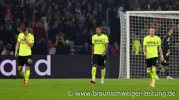 Herber Dämpfer für den BVB: 0:4 bei Ajax Amsterdam