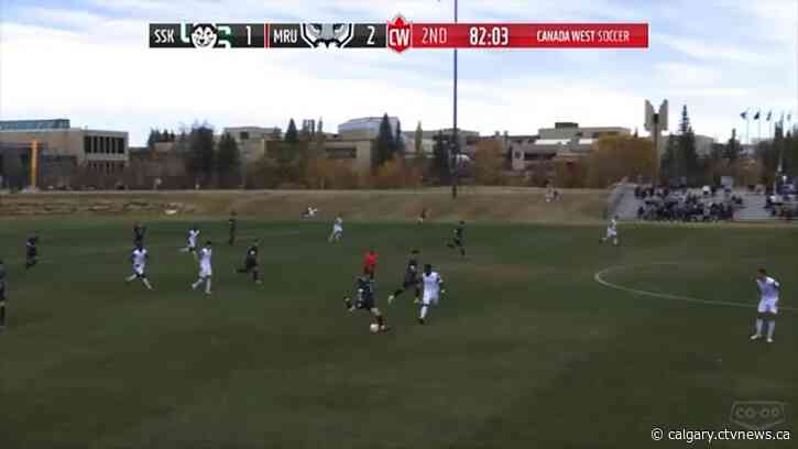 MRU Cougar Justin Anderson-Louch wrapping up university career in style with epic goal