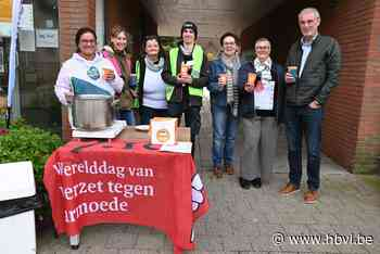 Inloopcentrum en Peter Meter serveren soep in strijd tegen armoede - Het Belang van Limburg