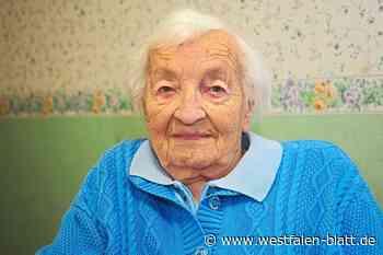 Frieda Brau feiert ihren 100. Geburtstag
