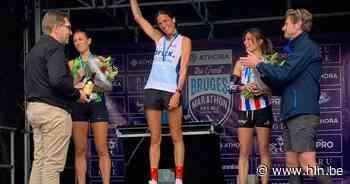 """Saartje Speleers na haar overwinning in de marathon van Brugge: """"Nog een jaartje competitie en dan stop ik"""" - Het Laatste Nieuws"""