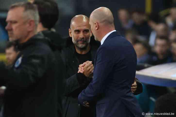 """Pep Guardiola nadat hij Club Brugge overklaste met Manchester City: """"Ik kreeg tips van Vincent Kompany"""" - Het Nieuwsblad"""