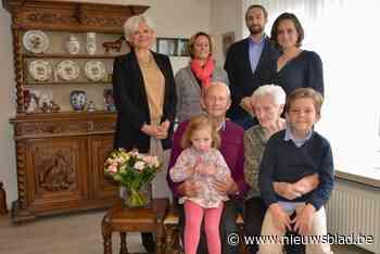 Fernand en Patricia vieren 65ste huwelijksverjaardag