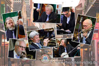 New Orleans Jazz Band of Cologne feat. Mark Brooks in Ober-Roden - Rhein Main Verlag