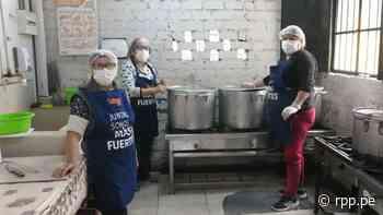"Comedor ""Villa Mercedes"" en Cercado de Lima pasó de cocinar 180 platos a 130 platos al día por falta de apoyo - RPP Noticias"