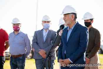 Se dio inicio en Villa Mercedes a la construcción de un colector y una planta para el tratamiento de efluentes domiciliarios e industriales - Agencia de Noticias San Luis