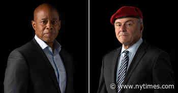 Adams vs. Sliwa: How to Watch the First N.Y.C. Mayoral Debate