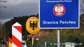 Kabinett berät über Grenzkontrollen zu Polen