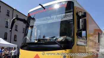 Der Augsburger Bücherbus fährt in dieser Woche nicht