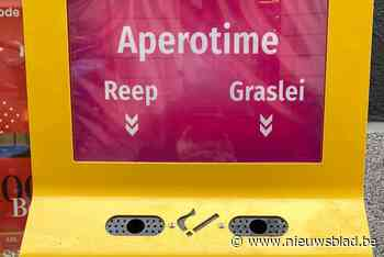 Apero op de Reep of de Graslei? Stem met een sigarettenpeuk