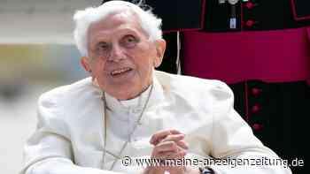 """Papst Benedikt äußert in einem Brief Todessehnsucht - """"Ich hoffe, dass ich mich bald hinzugesellen kann"""""""