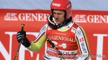Ski alpin: Josef Ferstl verletzt, mehrere Wochen Pause