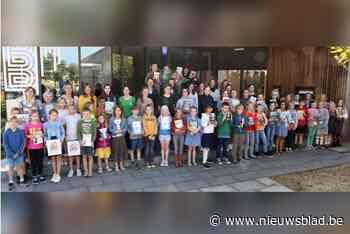 Recordaantal kinderen neemt deel aan Leesjury - Het Nieuwsblad