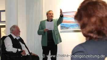 Finissage: Paul Hilz hört mit dem Malen auf - Eine letzte Ausstellung in der Moosburger vhs