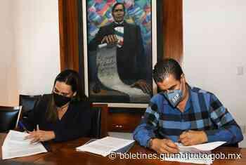 Firman la SSPEG y el Gobierno Municipal de Irapuato, convenios de colaboración en materia de seguridad. - Noticias Gobierno del Estado de Guanajuato