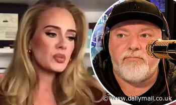 Kyle Sandilands lashes out at KIIS FM producers after 'embarrassing' Adele interview - Daily Mail