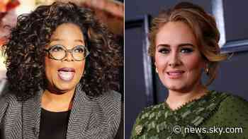 Adele's new album 30: Oprah Winfrey to interview Easy On Me singer in two-hour special as she debuts more new music - Sky News