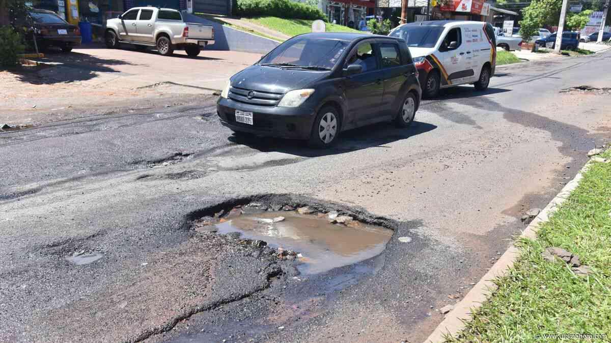 Lambaré está minada de baches y urge mejora de infraestructura vial - ÚltimaHora.com