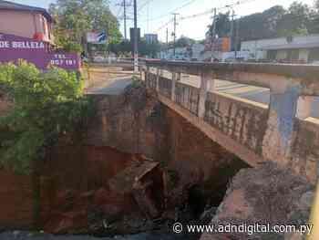Lambaré: Municipio exige a Wiens que repare puente colapsado - ADN Digital