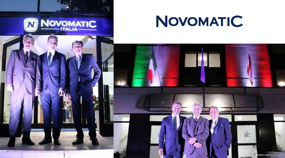 NOVOMATIC Italia inaugura la nueva sede en Roma - AZARplus