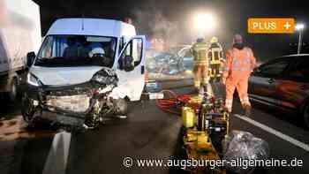 B 10 nach Unfall mehr als drei Stunden lang voll gesperrt