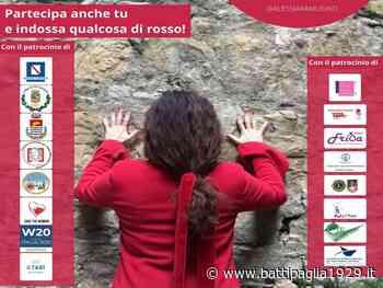 Salerno. #100DonneVestiteDiRosso: il flashmob contro la violenza sulle donne - Battipaglia 1929