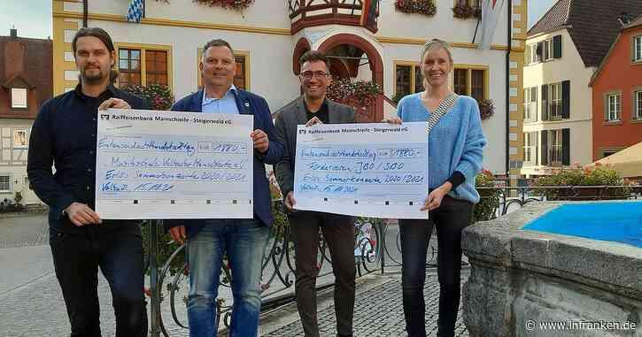 Über 3700 Euro an zwei Vereine ausgeschüttet