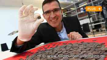 Größter Silbermünzenschatz Bayerns lag im Kies der Augsburger Wertach