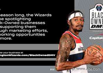 Wizards to support Black-Owned DMV campaign presented by Capital One during the 2021-22 season