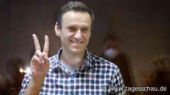 Kreml-Kritiker Nawalny erhält Sacharow-Preis des EU-Parlaments
