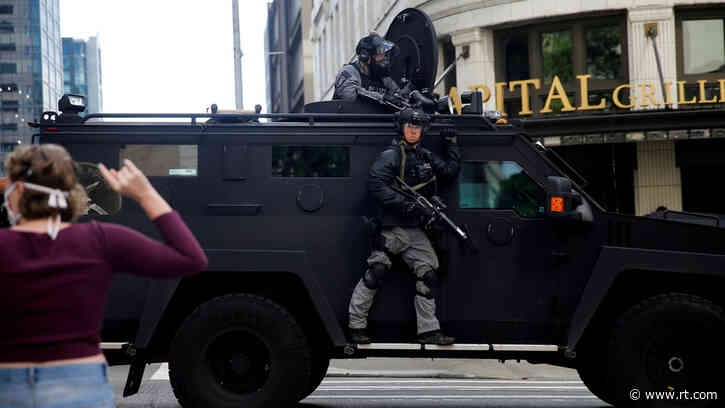US police hungry for discarded military gear now use climate change as pretext to get priority delivery – media