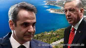 Kampfbomber der Türkei überfliegen bewohnte griechische Inseln
