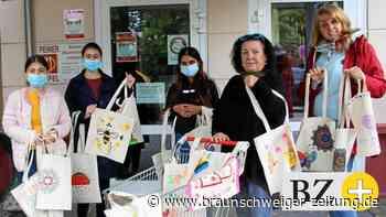 Kampf dem Plastik – Peiner Jugendliche gestalten Stoffbeutel