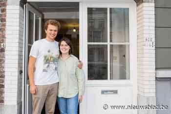"""Leven in het smalste huis van Gent, hoe doe je dat? """"Eigenlijk is hier te groot voor ons twee"""""""