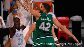 """Ausschluss von ungeimpften NBA-Stars: Für Kleber """"in Ordnung"""""""