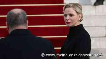 Charlène von Monaco: Palast veröffentlicht eine traurige Mitteilung über die Fürstin