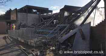 Fire-hit Grange School site in Warmley makes way for new school and housing