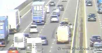 M5 traffic: Vehicle fire and crash causing delays on motorway near Bristol - updates